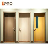 Wholesale Fire Resistance MDF Interior Doors Flat Insert Shape For Kindergarten Room from china suppliers