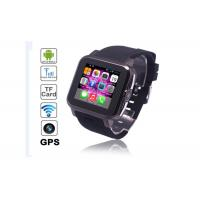 Wholesale Portable Smart Waterproof Watch Phone Manufacturer WIFI / BT / GPS / TF Card from china suppliers
