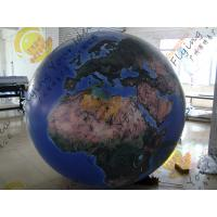 Wholesale Reusable 2.5m Inflatable Earth Ball Fire Retardant UV Protected Printing from china suppliers