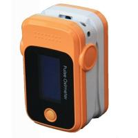 China Portable digital finger pulse oximeter Monitoring SPO2 PR with alarm, 2 AAA batteries on sale
