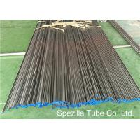 ASME SA249 Annealed And Pickled Stainless Steel Tube Welding W.T. 0.035'' - 0.120''