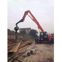 Wholesale 12-18 Meter Sheet Pile Vibratory Hammer , Steel Sheet Piling Hammers For Excavators from china suppliers