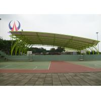 Quality Tensile Membrane Structures For Sports Shed , Customized Metal Frame Outdoor Shade Structures for sale