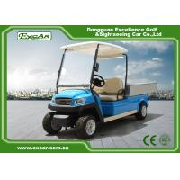 Wholesale Blue Electric Utility Golf Cart Hotel Buggy Car For 2 Person Battery Operated CE Approved from china suppliers