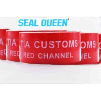 Wholesale Red Tamper Evident Sealing Warranty VOID OPEN Tape Transfer Security Seal Tape from china suppliers