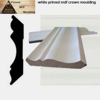 China Chinese white gesso primed MDF mouldings with best price on sale