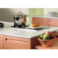 Villa lacquer painting thermofoil kitchen cabinets for Painting particle board kitchen cabinets