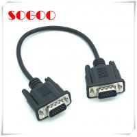 Wholesale VGA Panel Mount Extension Cable 0.3M DB15 Male To DB15 Male OEM / ODM Accept from china suppliers