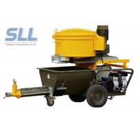 China Electric Epoxy Wall Putty Sprayer / Cement Mortar Plastering Machine 2.2kw Power on sale