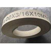 Wholesale High Hardness Molded Brake Lining Roll , Synthetic Rubber Windlass Brake Lining from china suppliers
