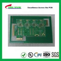Quality Aeronautics Printed Circuit Board 8L FR4 Immersion Gold + Hard Gold Quick Turn for sale
