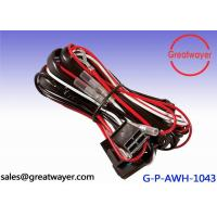 China 18AWG 20AMP Fuse wiring harness for motorcycles , 4 Pin Connector Protect Tube on sale
