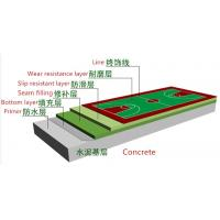 Buy cheap Eco Friendly Acrylic Floor Paint Basketball Court Coating Anti Weather Aging from wholesalers
