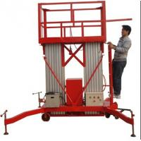 Wholesale Diesel control mobile aerial work platform,vertical man lift for sale from china suppliers