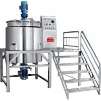 Wholesale 500L Stainless Steel Liquid Hand Soap Making Mixing Tank Machine from china suppliers