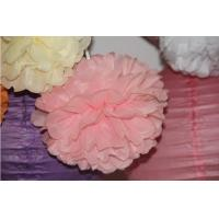 Wholesale 8 Yard Tissue Paper Pom Poms Flower Balls for Party Decoration Birthday Paper Decoration from china suppliers