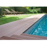 China Latest Co-Extrution WPC Composite Floor Decking With Uv Resistant Outdoor on sale