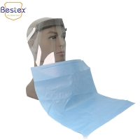 Wholesale Custom Printed Paper 19gsm Film 14gsm Disposable Dental Bibs from china suppliers