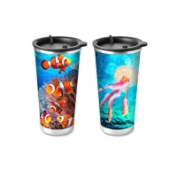 Wholesale Food Grade 3D Lenticular Printing Service Plastic Kids Drinking Cup from china suppliers