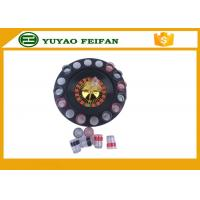 """Wholesale 32"""" Roulette Wheel Casino Mini Lucky Roulette Wheel Poker Chips Sets With 16pcs Cups from china suppliers"""