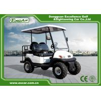 Wholesale EXCAR 48V 2 Seater Electric Hunting Golf Carts Intelligent Onboard Charger from china suppliers