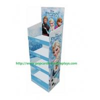 Pop Printed Corrugated Cosmetic Cardboard Counter Display Recyclable Manufactures