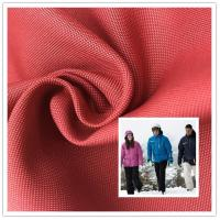 Waterproof 150 Denier Polyester Fabric Anti - Tear With Excellent Wear Resistance