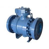Wholesale API 6D Bare Stem Ball Valve Trunnion Mounted from china suppliers