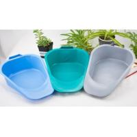 China Plastic disposable patient fracture bedpan, Medical bedpan with Handles, Adult bedpan with many color on sale