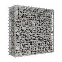 Wholesale 4.0mm Wire Galfan Welded Gabion Box , Retaining Wall Gabion Basket from china suppliers