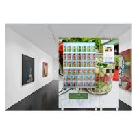 OEM Credit Card Vending Machine Salad Jar Bottle Vending Machine With LCD Screen