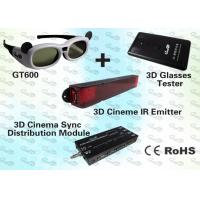 Wholesale 3D Cinema Solution with IR Emitter and Active Shutter 3D Glasses from china suppliers