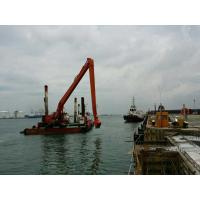 Wholesale Q550 Steel Excavator Telescopic Boom For Digging Sea Soil 32 Meter Length from china suppliers