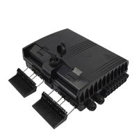 China Plastic ODF Optical Distribution Box  Odf Fiber Breakout Box Wall Mount Stype on sale