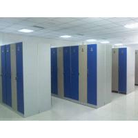 Wholesale Single Tier Lockers PVC Material , Gray Cabinet Commercial Gym Lockers from china suppliers