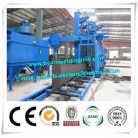 Roller Conveyor H Beam Shot Blasting Machine For Cleaning Rust
