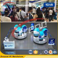 Wholesale Attractive 360 Degree Theme Park  9D VR Simulator With HD 1080P Glasses from china suppliers