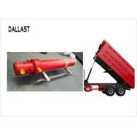 China Standard Hydraulic Lift Cylinder Multi Stage Single Acting Chrome for Truck Lifting on sale