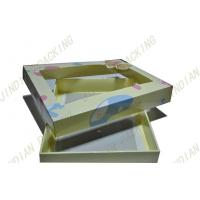 Wholesale Simple Foldable Card Paper Packaging Boxes For Clothes With Pet Clear Window from china suppliers