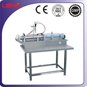 Wholesale Semi automatic shampoo/liquid soap/detergent/e-liquid full pneumatic filling machine from china suppliers