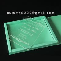 Wholesale B IC (9) deep impress wedding card from china suppliers