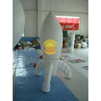 Wholesale Durable High quality 0.28mm PVC Advertising Customized Rocket Shaped Balloons for Opening Event PRO-10 from china suppliers