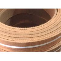 Wholesale Roll Non Asbestos Woven Brake Lining Brown Reddish ISO Certification from china suppliers
