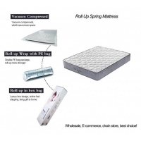 Wholesale Cheap Tight top roll up best spring mattress vs coil mattress from china suppliers