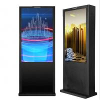 Buy cheap Outdoor 4K Touch Screen Digital Signage Kiosk Stand With Windows System from wholesalers