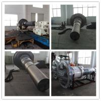 Buy cheap Forging Steel Step Industrial Shafts 34CrNiMo6 L3500mm OD 1800mm from wholesalers