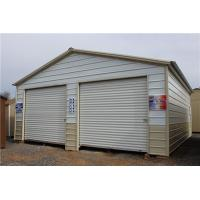 Wholesale prefabricated insulation steel storage garage for car and tools from china suppliers