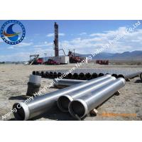 Wholesale 304 / 316L Johnson V Wire Screen Pipe For Water Well Drilling Strong Structure from china suppliers