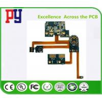 Wholesale 4 Layer Rigid Printed Circuit Boards Polyimide Fr4 Lead Free Surface Finishing from china suppliers