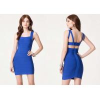 Wholesale Summer Double Strap Bodycon Dress Chic Cutout Back for Adults from china suppliers